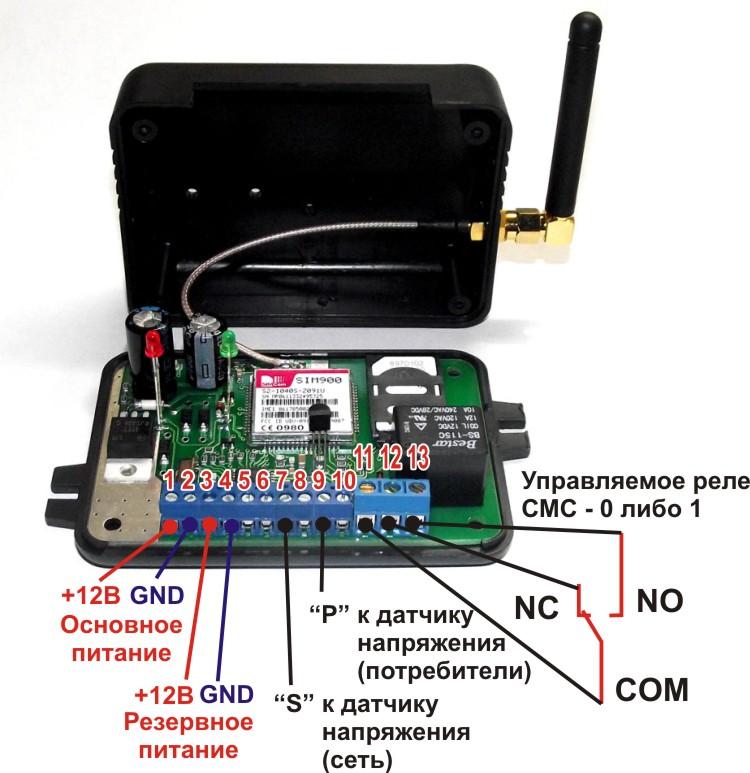 GSM-модуль необходимо