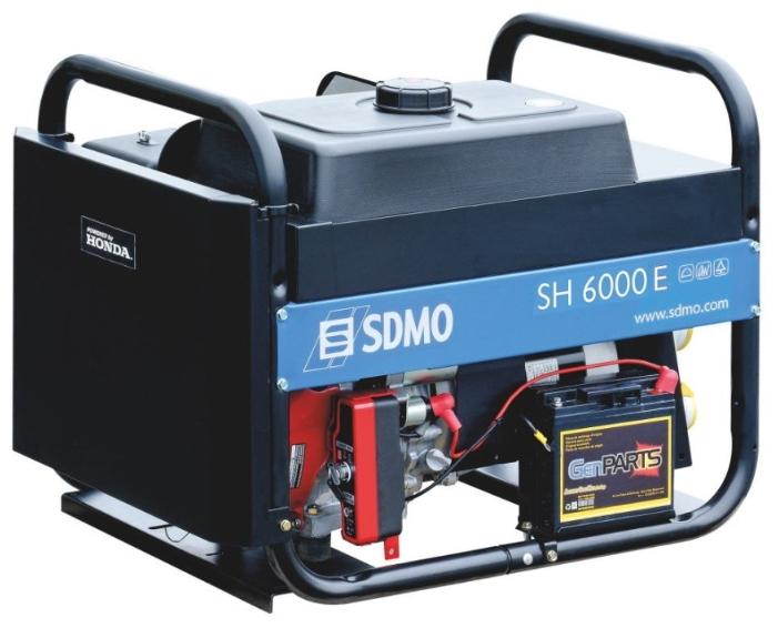 Переделка генератора SDMO